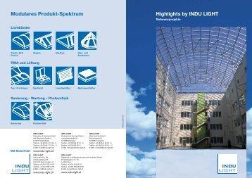 Prospekt Referenzen - Indu-Light AG