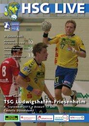 TSG Ludwigshafen-Friesenheim - HSG Düsseldorf