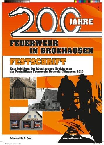 200 Jahre Feuerwehr in Brokhausen