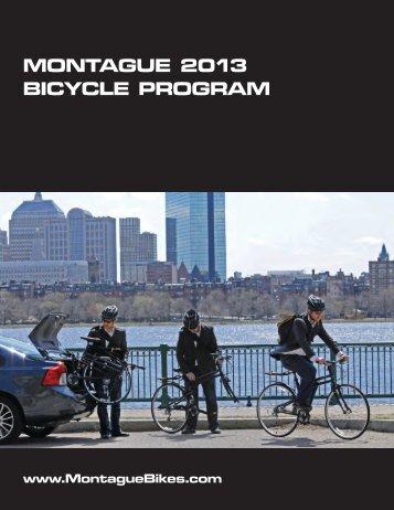 MONTAGUE 2013 BICYCLE PROGRAM