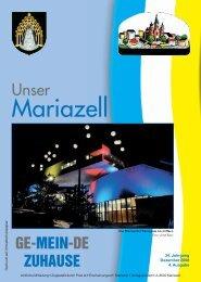 Mariazell Dezember 2008 - Stadt Mariazell