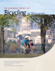 The Economic Impact of Bicycling in Wisconsin