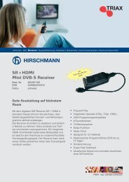 SR 1 HDMI Mini DVB-S Receiver - Sonepar