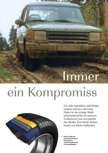 Für viele Autofahrer sind Reifen einfach schwarz und rund. Dabei ist ...