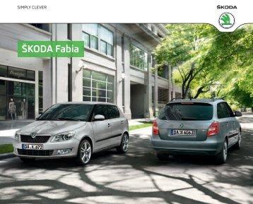 Fabia Katalog[PDF] - Skoda