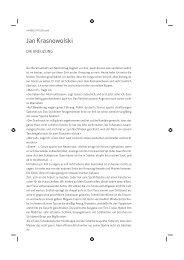 Jan Krasnowolski - Deutsches Polen Institut