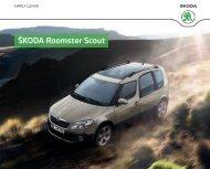 Roomster Scout Katalog inkl. Preise und Ausstattung[PDF - Skoda
