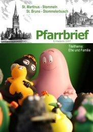 Erntedank 2007 Pfarrbrief - St. Martinus Stommeln / Startseite