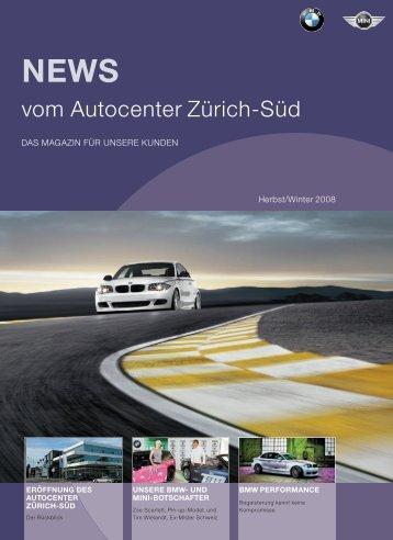 vom Autocenter Zürich-Süd - Autocenter Zürich-Süd AG