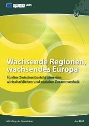 Fünfter Zwischenbericht über den wirtschaftlichen und - European ...