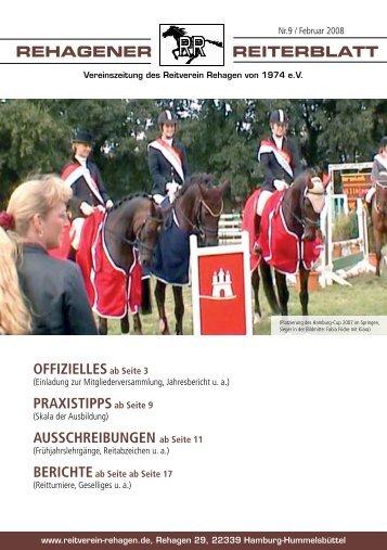 bErIchtE - Pferdezentrum am Rehagen