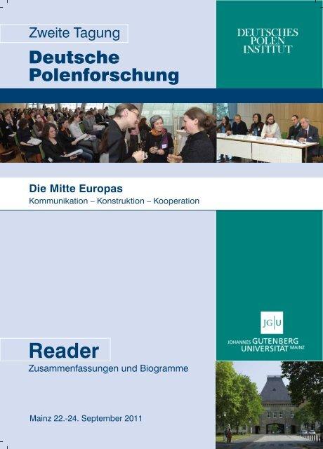 Reader - Deutsches Polen Institut