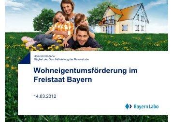 Heinrich Rinderle · Mitglied der Geschäftsleitung der BayernLabo