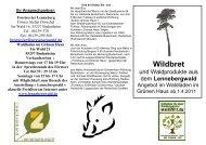 Waldladen im Grünen Haus Im Wald 21 55257 Budenheim ...