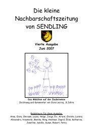 A_JUNI_Die Kleine Nachbarschaftszeitung - Mein SENDLING