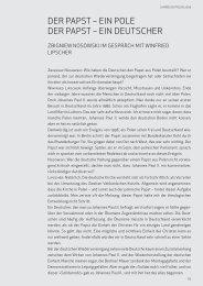 Zbigniew Nosowski/Winfried Lipscher: Der Papst – ein Pole