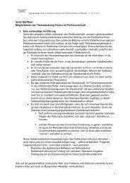 Gerd Steffens (Kassel): Möglichkeiten der Thematisierung Polens im