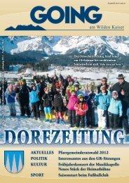 (3,75 MB) - .PDF - Going am wilden Kaiser - Land Tirol