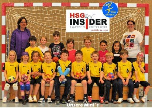 Wir unterstützen den INSIDER - HSG Laatzen-Rethen