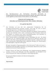 Technische Universität Darmstadt - Deutsches Polen Institut