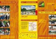 1. bis 3. august 2003 csi*** spangenberg