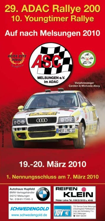 Bild Jonathan Häde - EWO-Motorsport