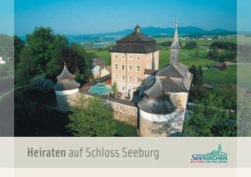 Heiraten auf Schloss Seeburg - zur Seeburg