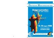 Festschrift zur Deutschen Meisterschaft (es ist eine ... - BSV Schefflenz
