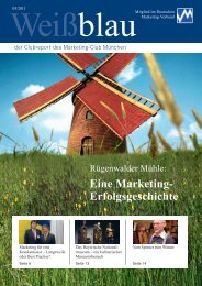 DIE WELT - Marketing-Club München e.V.