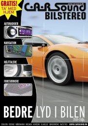 bedre lyd i bilen - CARSound Bilstereo