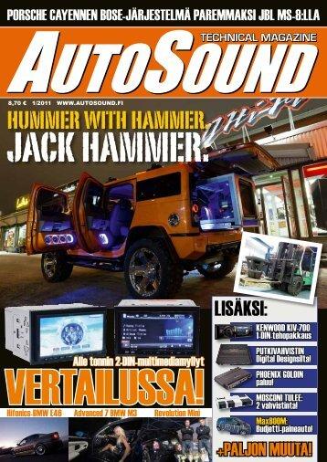 technical magazine - AutoSound
