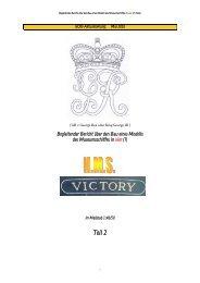 Teil 2, Galion und Heckspiegel - HMS Victory