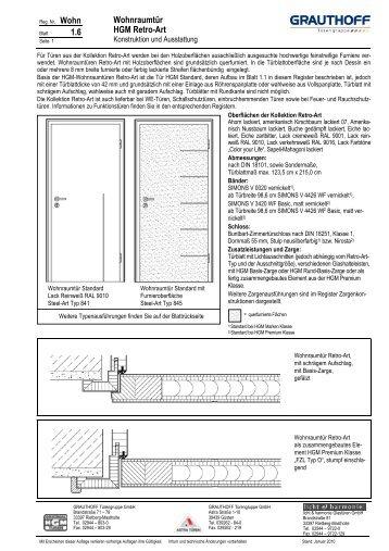 gef lzte t ren grauthoff t rengruppe. Black Bedroom Furniture Sets. Home Design Ideas