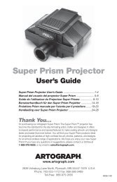 Super Prism Projector User's Guide - Great Art