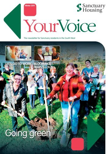 Your Voice South West - Winter 2011 (PDF 3.9 - Sanctuary Group