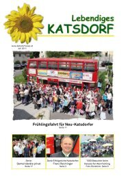 Juli 2011 - oevp katsdorf - ÖVP
