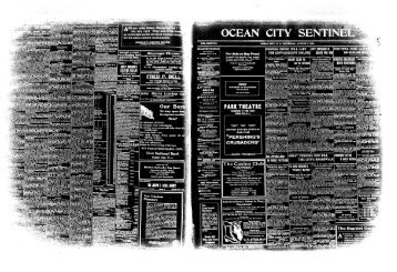 Aug 1918 - On-Line Newspaper Archives of Ocean City