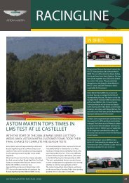 ASTON MARTIN RACING LINE Issue03