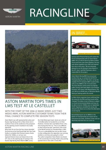 ASTON MARTIN RACING LINE Issue03