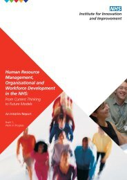 HR Summary Report cover - The Institute for Employment Studies