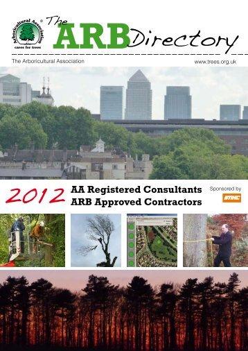 Directory - Arboricultural Association