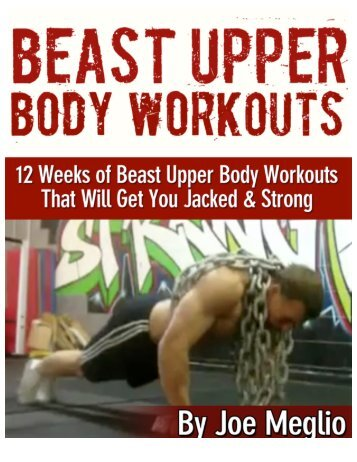 Upper Body Workouts - Meglio Fitness