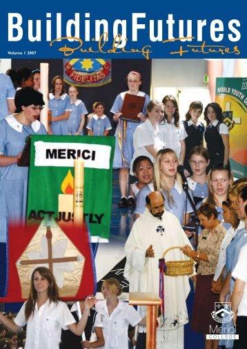 Vol 1. 2007 - Merici College