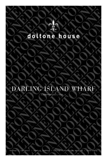 DARLING ISLAND WHARF - Doltone House