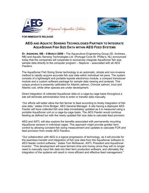 Download This Article as PDF - Aquaculture Engineering Group