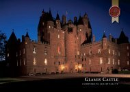 Download our Corporate Hospitality Brochure. - Glamis Castle