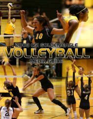 2008 VB Media Guide - College of Southern Idaho Athletics
