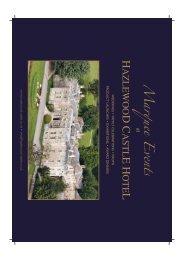 B5 Marquee Brochure 12pp - Ashdale Venues