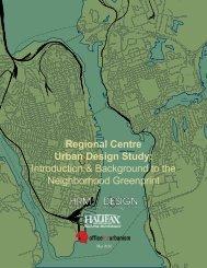 Neighbourhood Greenprint - Halifax Regional Municipality