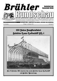 Notrufe - Gemeinde Brühl